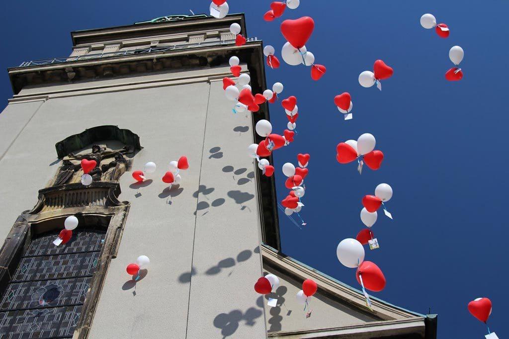 Ballons Massenstart